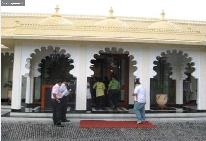 Foto del Hotel udaipur trindent del viaje india coche alquiler