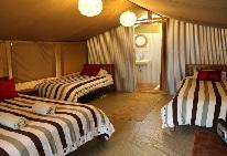 Foto del Hotel Wildebeest Eco Camp Nairobi del viaje experiencia kenia zanzibar
