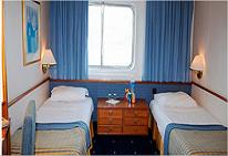 Foto del Hotel camarote exterior del viaje crucero peloponeso jonico