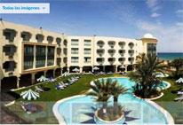 Foto del Hotel mehari facade del viaje tunez aventura desierto