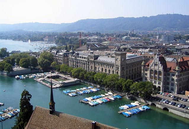 Viaje suiza espectacular zurich