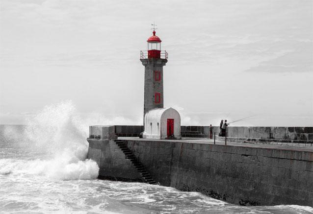 Viaje viaje tesoros portugal porto rompeolas