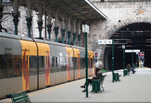 Viaje viaje tesoros portugal porto tren