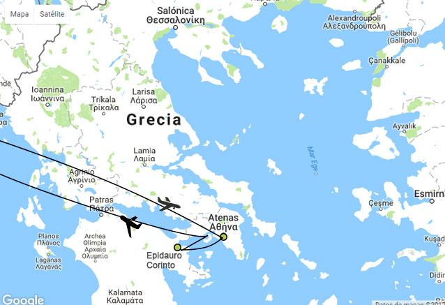 Viaje grecia oro oro