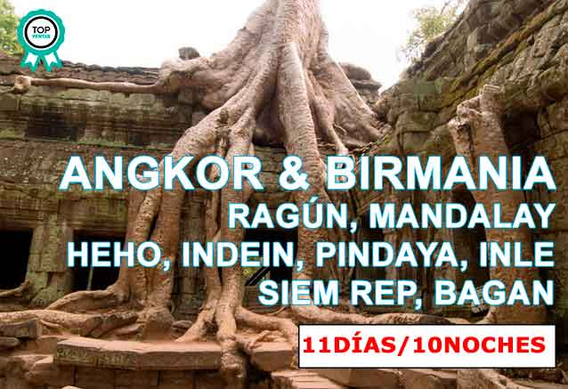 Foto del viaje ofertas viaje birmania angkor wat ANGKOR y birmania
