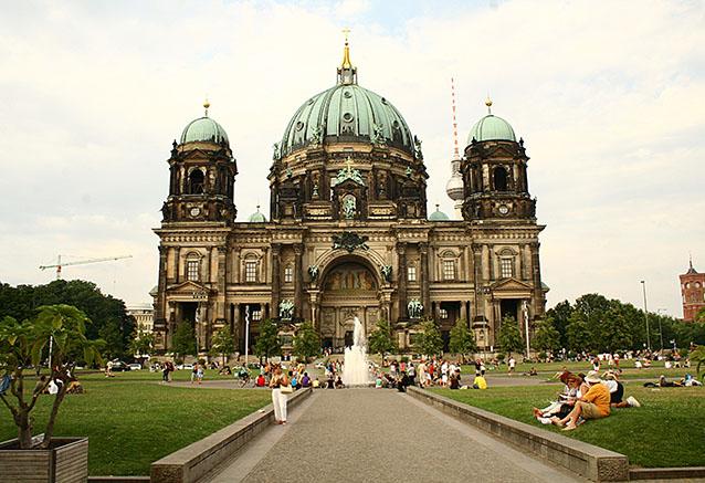 Viaje alemania encantada romantica Catedral de Berlin III