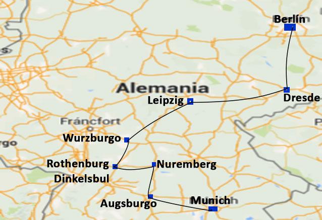 Viaje alemania encantada romantica alemania encantada