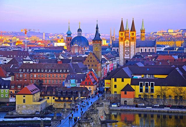Viaje alemania encantada romantica wurzburg