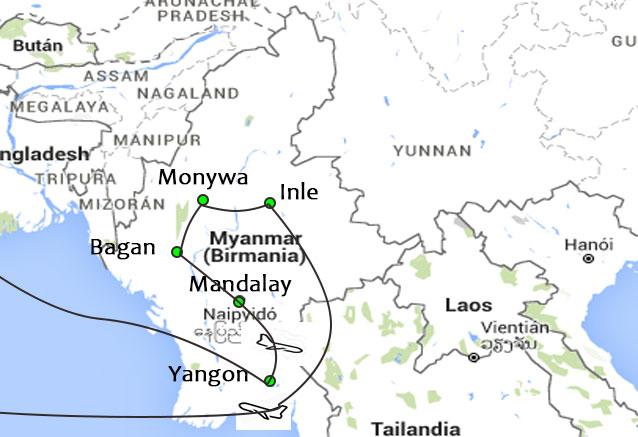 Viaje corazon birmania corazon
