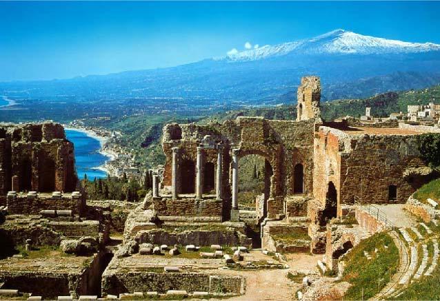 Viaje circuito mini sicilia oriental Sicilia Ruinas Italia