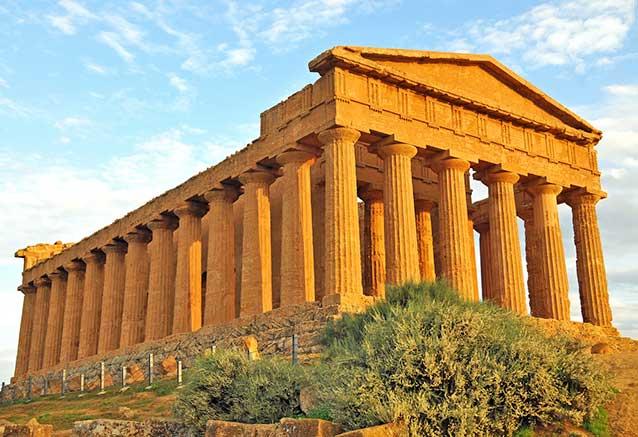 Viaje circuito mini sicilia occidental templo de la Concordia en Sicilia por Dennis Jarvis licencia 2 0