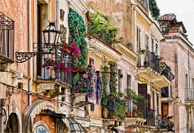 Viaje circuito sicilia palermo Taormina Italia