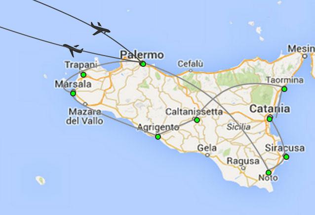 Viaje circuito sicilia palermo from palermo