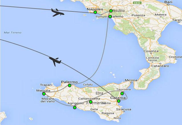 Viaje reino dos sicilias 8 dias dos sicilias