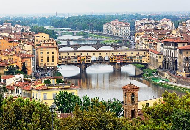 Viaje delizia italiana florencia