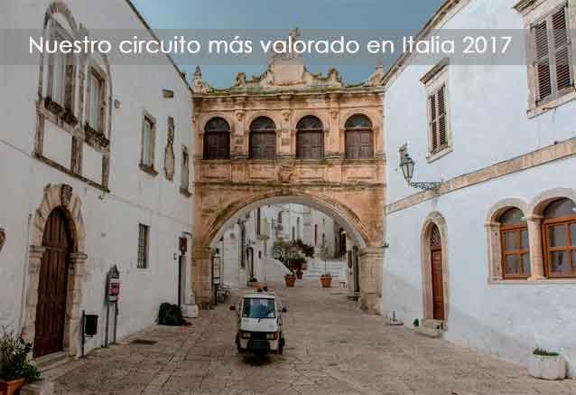 Viaje circuito apulia italia apulia publia oferta circuito italia
