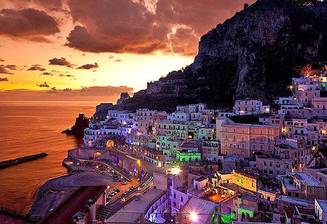 Viaje circuito campania italia Atrani en Campania
