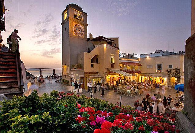 Viaje circuito campania italia Plaza de Capri