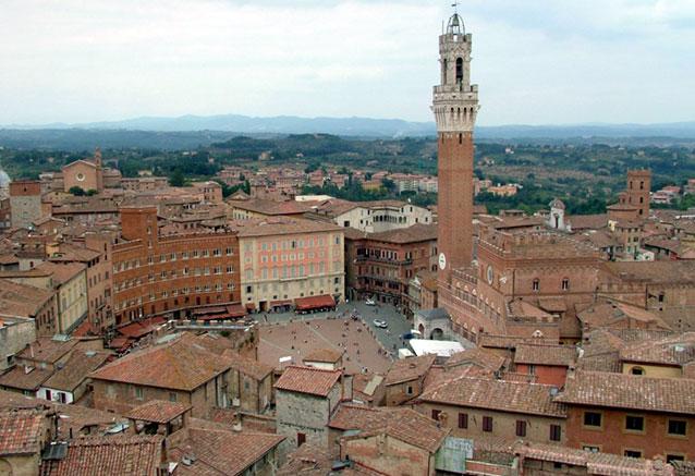 Viaje italia norte sur Piazza del Campo (Siena)