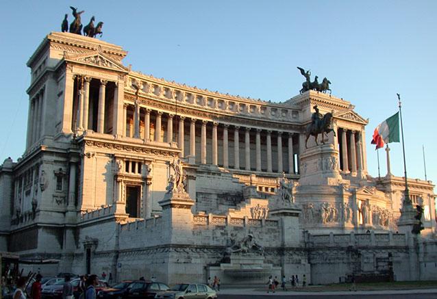 Viaje explendor italiano RomaAltare