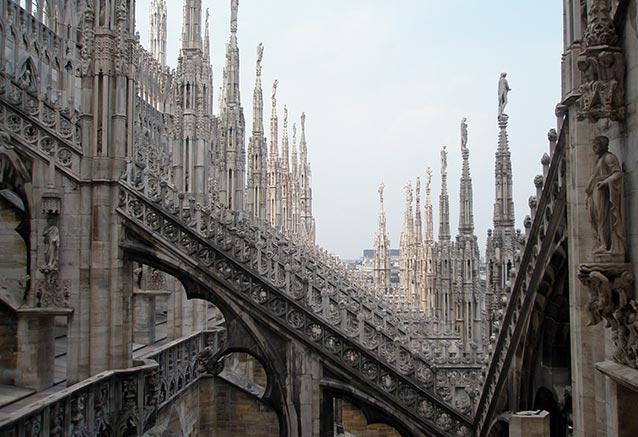Viaje explendor italiano duomo milan