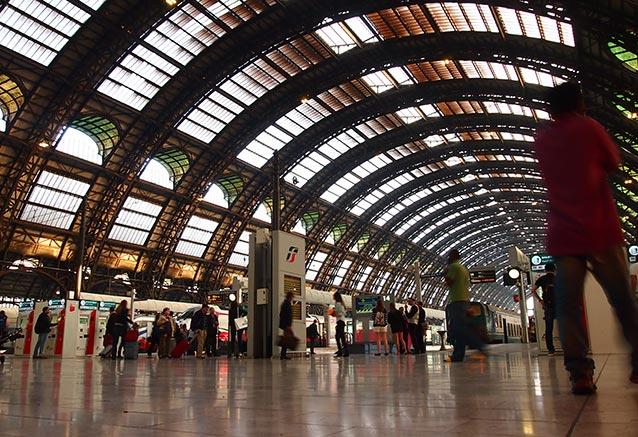 Viaje tour claudio station milan