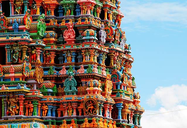 Viaje india todo sur 15 dias Madurai