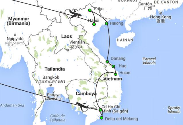 Viaje vietnam al completo sapa saigon con sapa