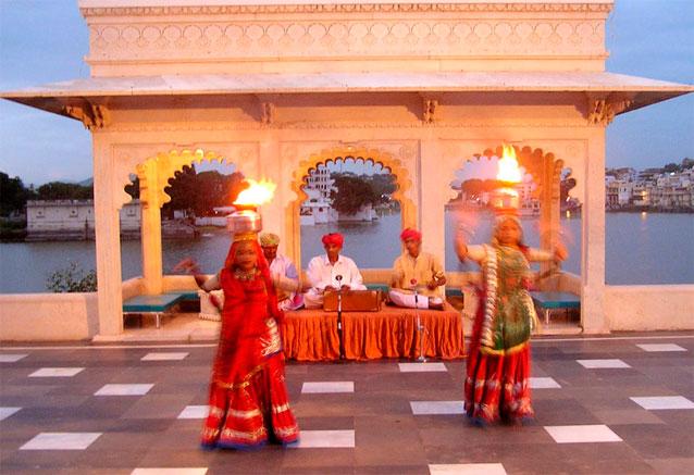 Viaje magia del rajastan danzas indus