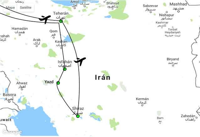 Viaje iran fabuloso iran clasico