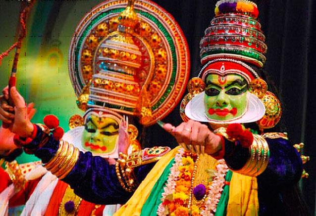 Viaje sensaciones indias 14 days mascaras india