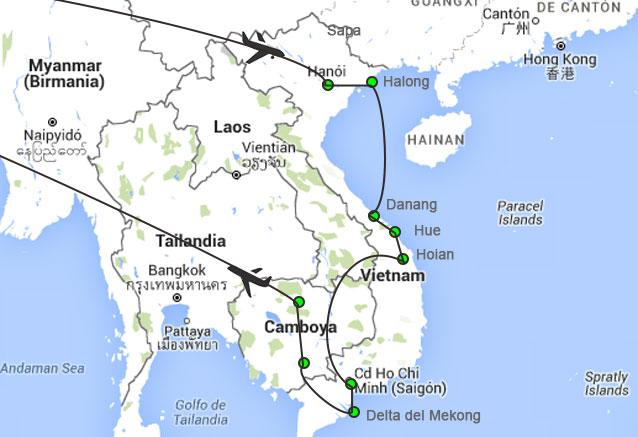Viaje vietnam camboya esencial vietnma camboya