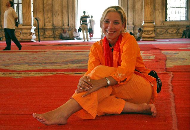 Foto del Viaje vanesa-en-su-viaje-a-egipto-en-la-mezquita-de-Cairo.jpg