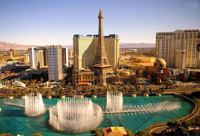 Viaje maravillas del oeste americano Las Vegas