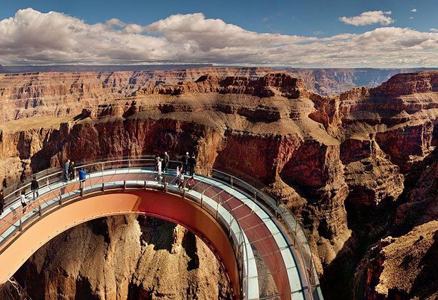 Viaje triangulo del oeste usa GRAND CANYON SKYWALK2