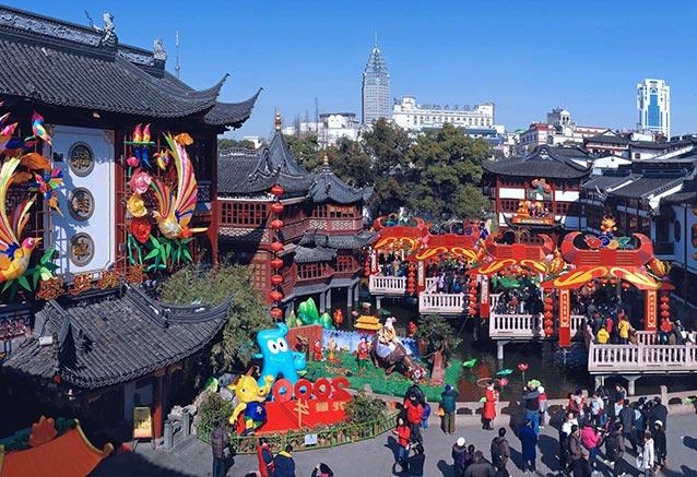 Viaje china tibet shanghai china