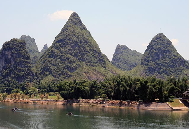 Viaje china milenaria Karst peaks Yangshuo