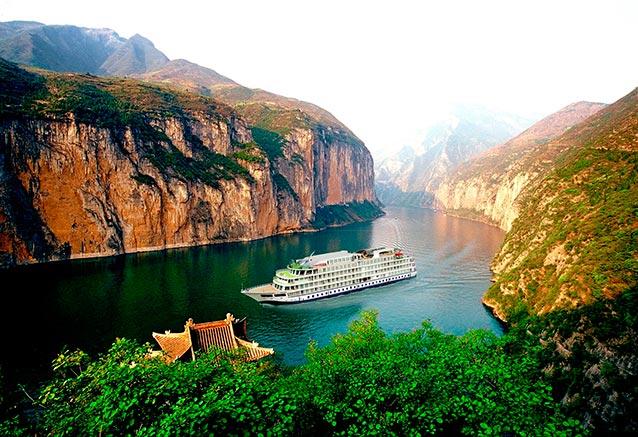 Viaje crucero yantse Rio Yangtze
