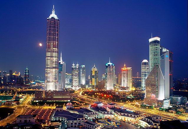 Viaje crucero yantse Shanghai China
