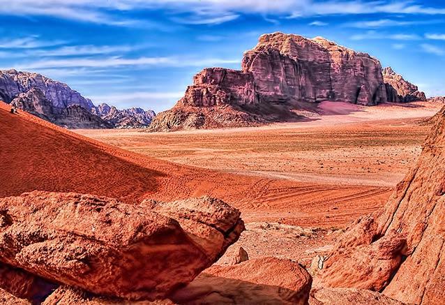 Foto del viaje ofertas jordania jerusalen wadi rum WadiRum
