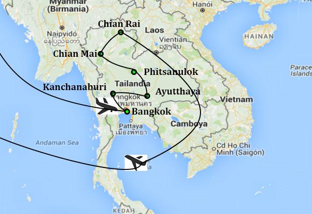 Viaje lo mejor tailandia lo mejor