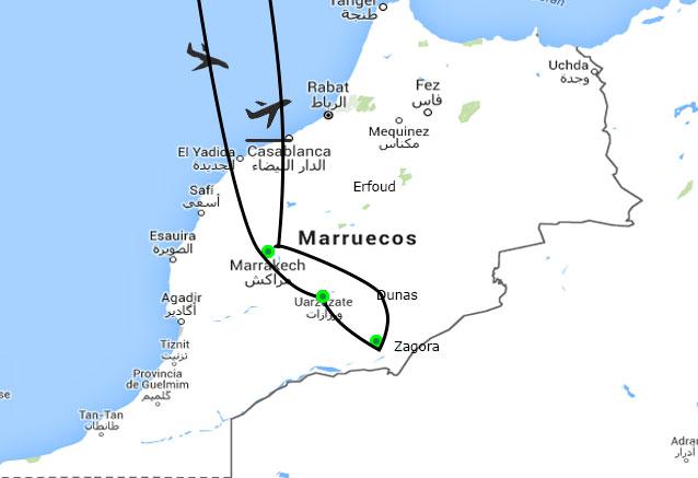 Viaje viaje reinos nomadas marroc reinos