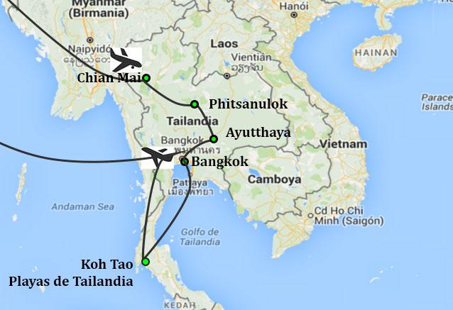 Viaje contrastes tailandia contrastes con kotao