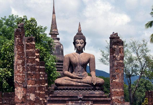 Viaje contrastes tailandia sukhotai pri