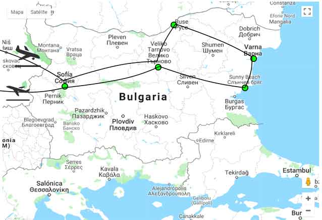 Viaje bulgaria tour unesco bulgari unesco