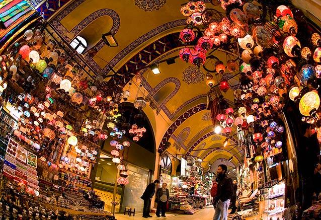 Viaje turquia cultural playas maravillosas grand bazaar ist