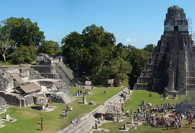 Viaje aventura maya naturaleza TIKAL prin