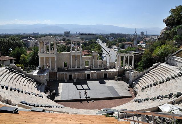 Viaje bulgaria esencial 6 dias Roman Theatre Plovdiv