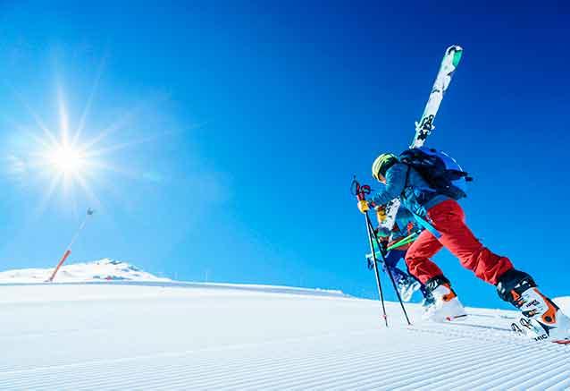 Foto del Viaje pista-de-nieve-cerler-esquiador-con-el-equipo.jpg