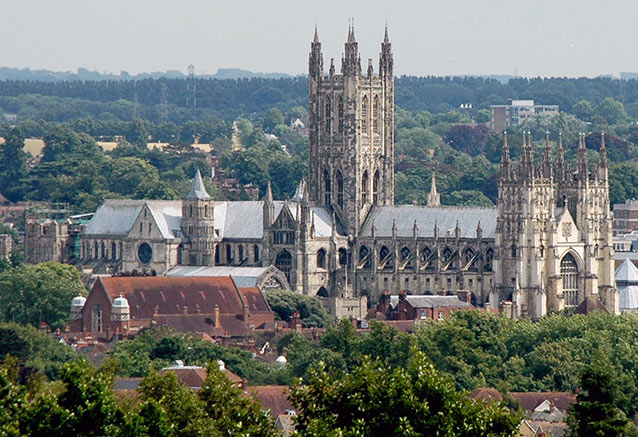 Viaje sur inglaterra gales Canterbury